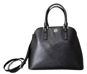 Tory Burch Robinson Satchel in black
