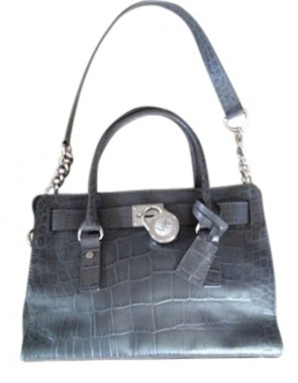 Preload https://item5.tradesy.com/images/michael-michael-kors-hamilton-grey-crocodile-embossed-leather-satchel-16079-0-0.jpg?width=440&height=440