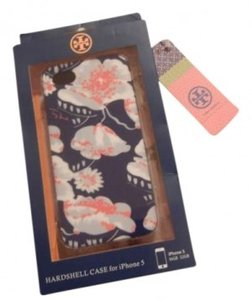 Tory Burch Tory Burch Hardshell Floral iPhone 5 Case