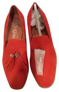 Jeffrey Campbell Red orange Flats