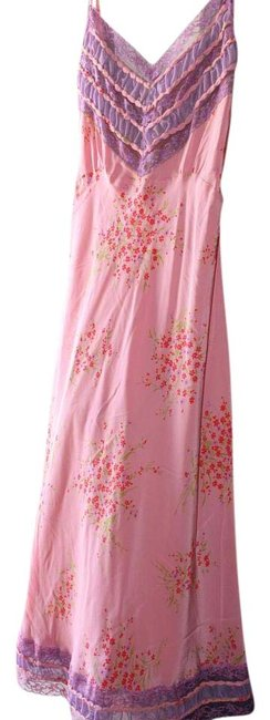 Item - Pink and Lavender Mid-length Night Out Dress Size 8 (M)