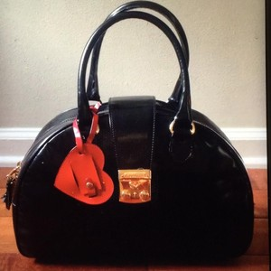 Moschino Satchel in Black