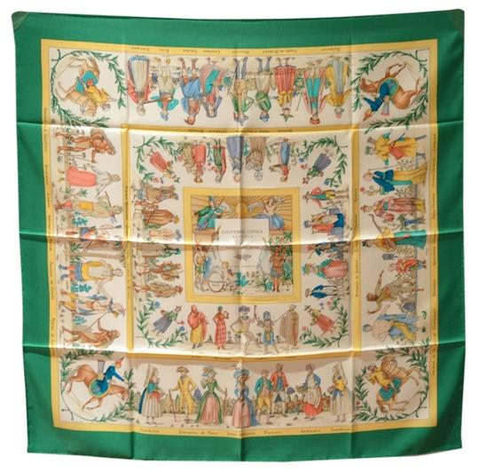Preload https://item2.tradesy.com/images/hermes-authentic-hermes-costumes-civils-actuels-silk-scarf-in-green-1608056-0-0.jpg?width=440&height=440