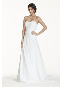 David's Bridal Wg3743 Wedding Dress