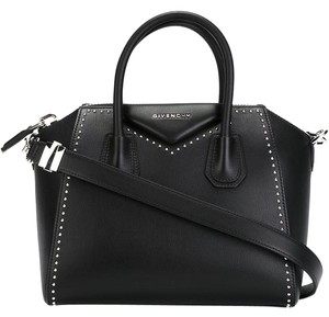 Givenchy Studded Satchel in Black