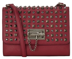 Dolce&Gabbana Studded Leather Gemstone Shoulder Bag