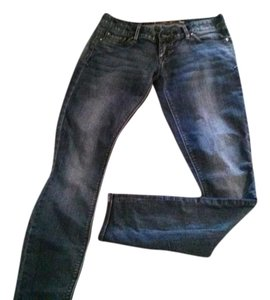 Express 79% Cotton 19% Polyester 2% Spandex Ultra Low Rise Jeggings-Medium Wash