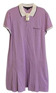 Brooks Brothers short dress Lavendar on Tradesy