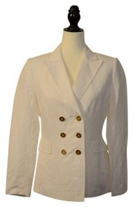 Tahari New With Tags White Blazer