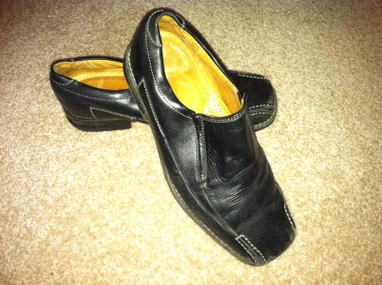 Unknown Leather Men's Dress Genuine Leather Black Mules