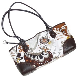 Brighton D635777 Matisse Floral Print Shoulder Bag