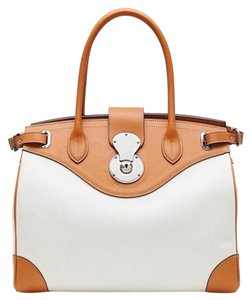 Ralph Lauren New Collection Satchel in Cream
