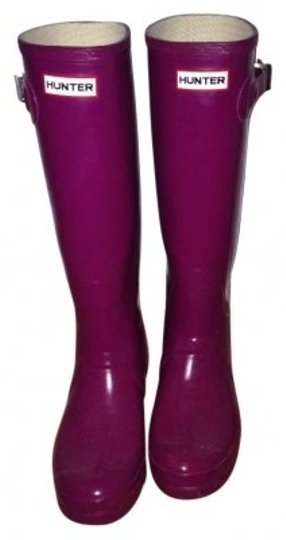 Preload https://item3.tradesy.com/images/hunter-violet-high-gloss-bootsbooties-size-us-9-160832-0-0.jpg?width=440&height=440