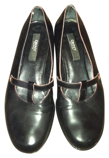 DKNY Genuine Leather Mary Janes Mary Janes Black Mules