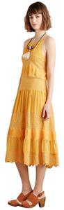 Anthropologie short dress Mango Bohemia Boho Maxi Lace Anthro on Tradesy