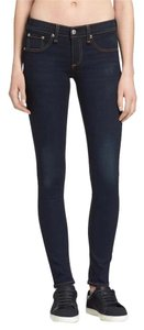 Rag & Bone Denim Dark Wash Skinny Jeans-Dark Rinse