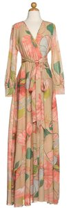Peach Maxi Dress by Maxi Gone With The Wind