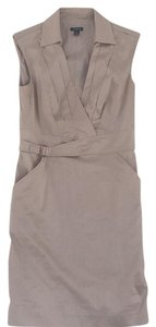 Ann Taylor short dress Khaki on Tradesy
