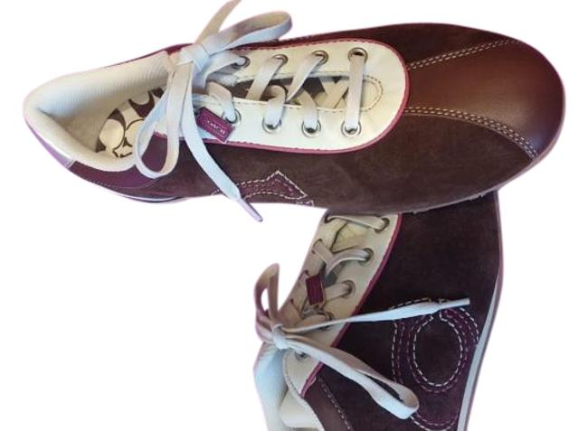Item - Brown and Cream with A Hint Of Pink. Brina Sneakers Size US 10 Regular (M, B)