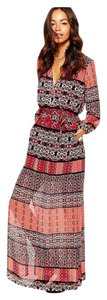 Bohemian Floral maxi dress Maxi Dress by Band of Gypsies