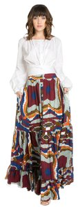 TOV Holy Maxi Skirt Multicolor