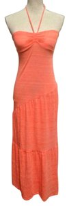 Peach Maxi Dress by Independent Clothing Co.
