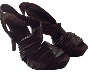 Carlos by Carlos Santana Brown Platforms