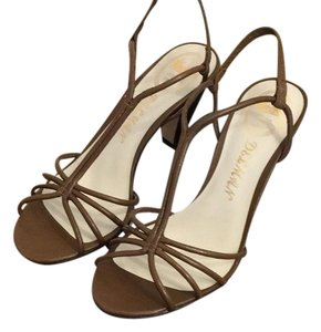 Delman Brown Sandals
