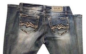 Miss Me Denim Boot Cut Jeans-Distressed