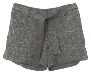 The Limited Tweed Dress Shorts Charcoal