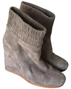 Dolce Vita Grey suede Wedges