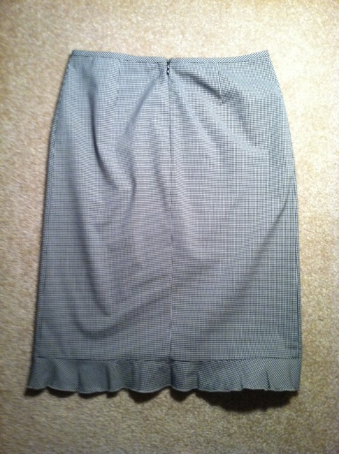Laundry Pencil Skirt Black and white