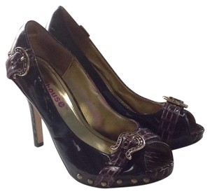 Dollhouse Purple Pumps