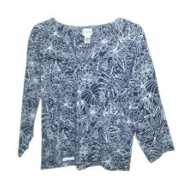 Preload https://item2.tradesy.com/images/chico-s-navy-and-white-tee-shirt-size-12-l-16086-0-0.jpg?width=400&height=650