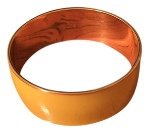 J.Crew yellow Jcrew wide bangle