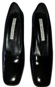 Via Spiga BLACK PAT. LEATHER Pumps