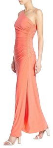 Laundry by Shelli Segal Fitted Beaded One-shoulder Dress