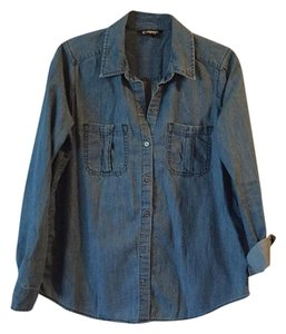 Express Button Down Shirt Denim