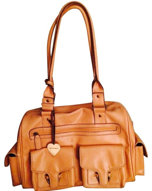 Item - Light Tan Leather Weekend/Travel Bag