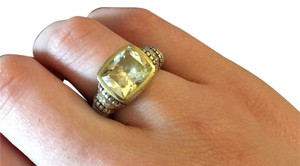 Judith Ripka Yellow Quartz Ring