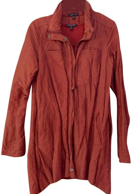 Item - Rust Light Weight Single-breasted Jacket Size 6 (S)