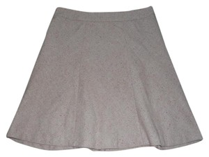 Merona Mini Skirt Tan / multi color threads