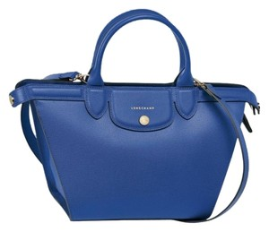 Longchamp Shoulder Satchel in blue
