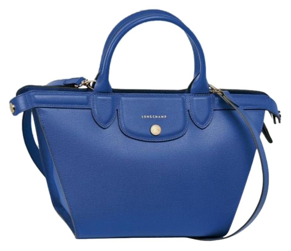 5f7125a423bf Longchamp Handbag Shoulder Saffiano Crossbody Satchel in blue Image 0 ...