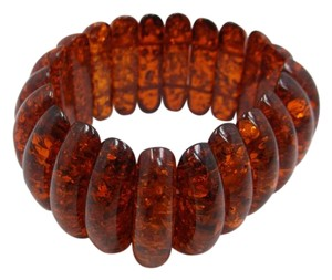 Other Simulated Amber Stretch Fashion Bracelet w Free Shipping