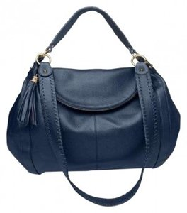 Onna Ehrlich Rachel Hobo Navy Handbag Cross Body Bag