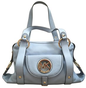 MICHAEL Michael Kors Satchel in Light Blue