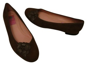 Lilly Pulitzer brown Flats
