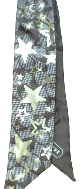 Item - Olive Green and Gold Bag Tie Scarf/Wrap