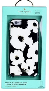 Kate Spade Black on Gold on White iphone 6/6s